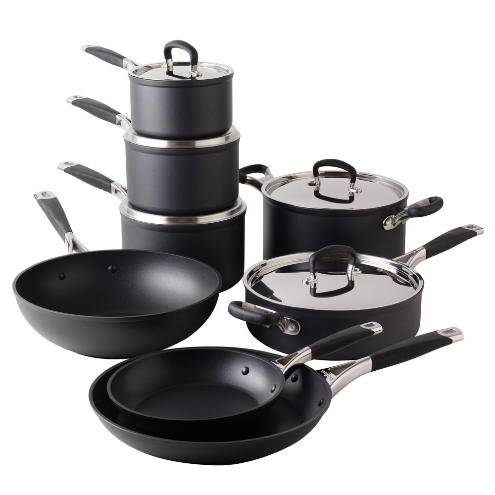 Non-stick pans for induction hobs