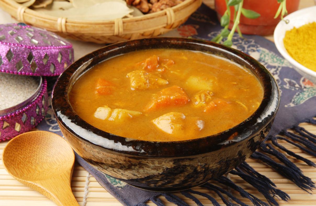 Simple autumn curry