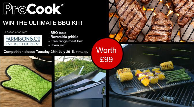 Win the ultimate BBQ Kit [Competition closed]