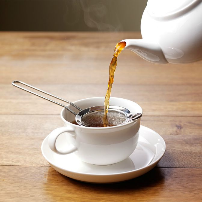 Tea & strainer
