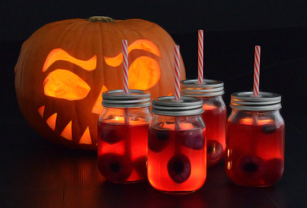 Halloween Eyeball Punch