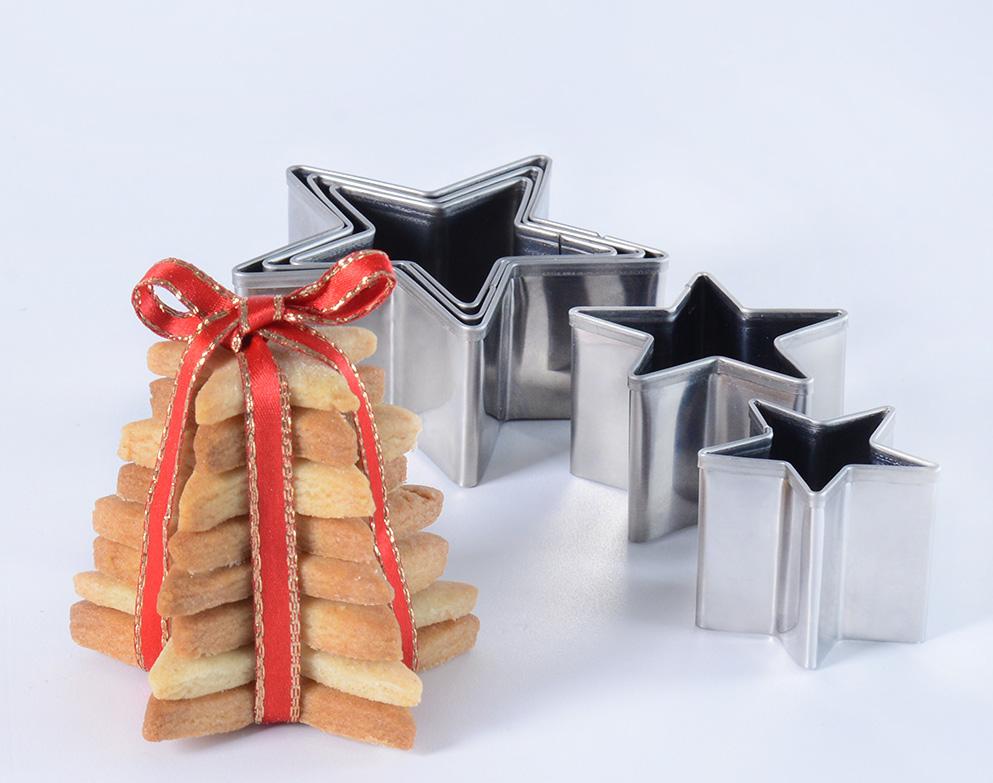 Christmas Shortbread Stars