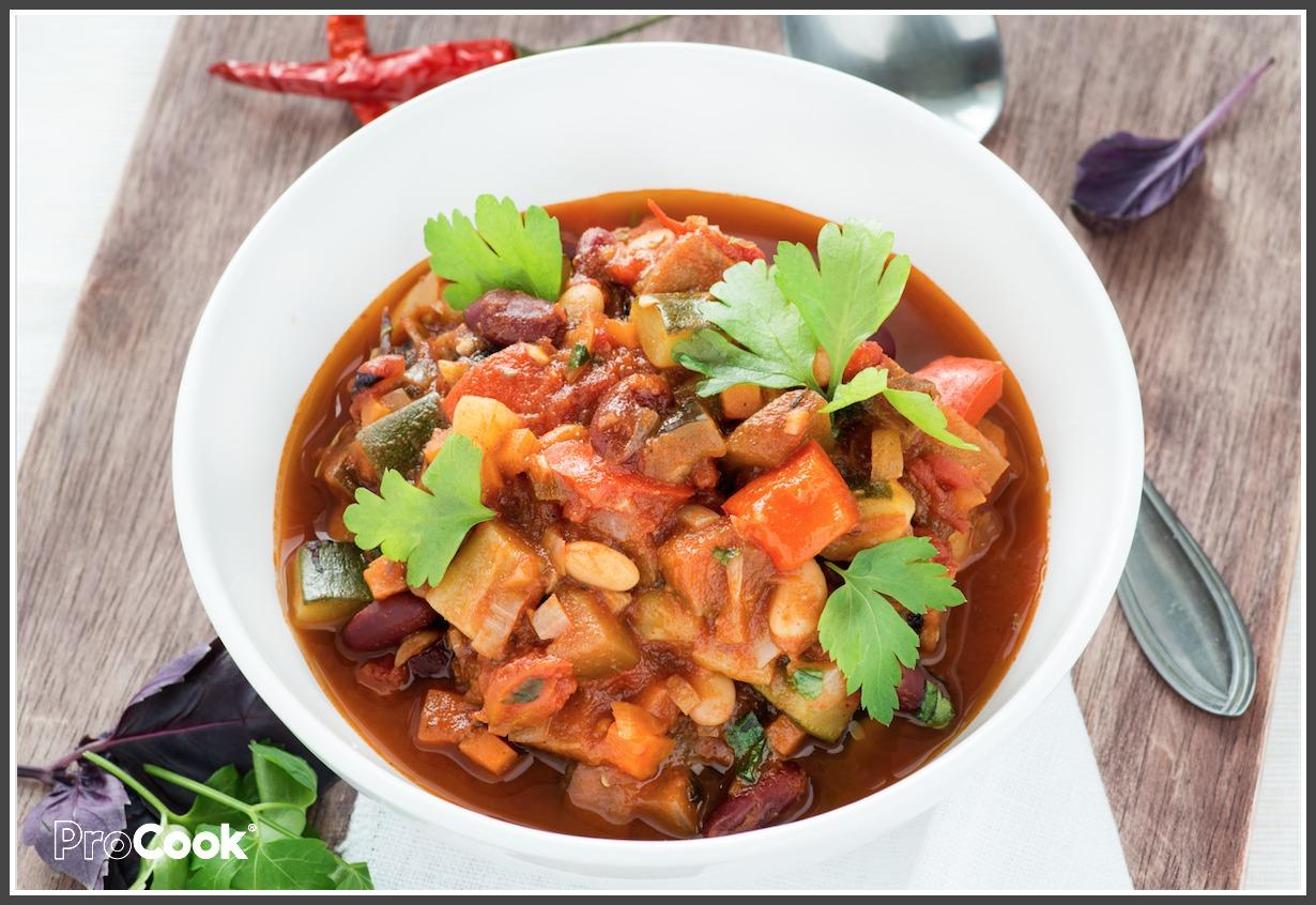 Quick Vegetarian Chilli