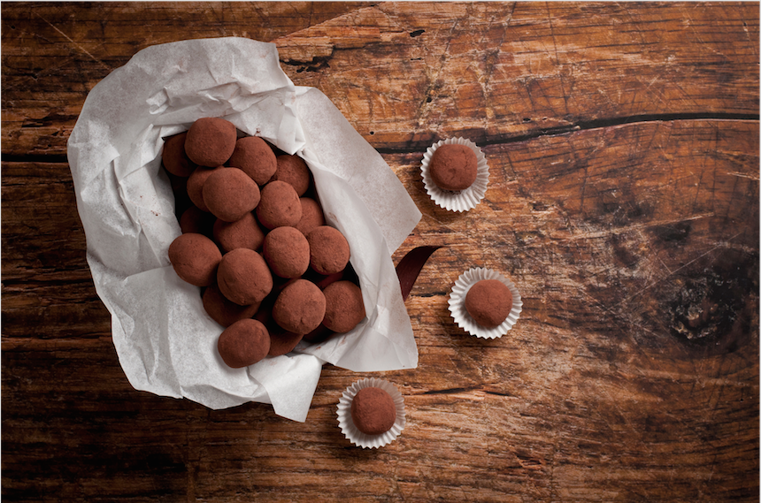 Gift Idea: Homemade Chocolate Truffles