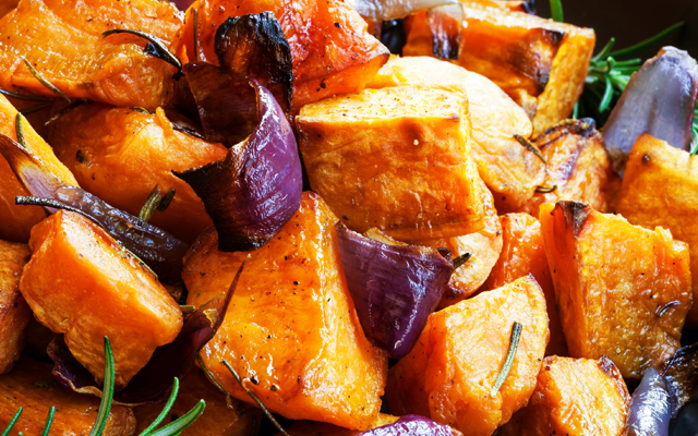 ProCook Rosemary Sweet Potatoes and Red Onion Recipe
