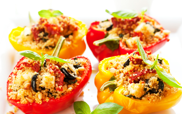 ProCook Meditteranean Stuffed Peppers Recipe