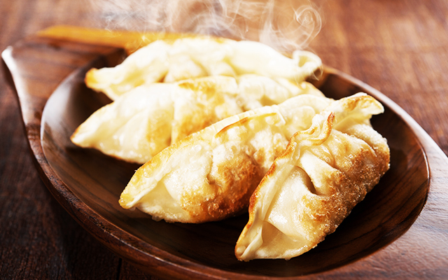 Homemade Vegetable gyoza