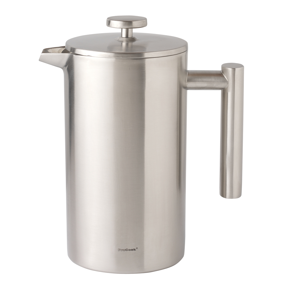 Stainless Steel Cafetiere 1L