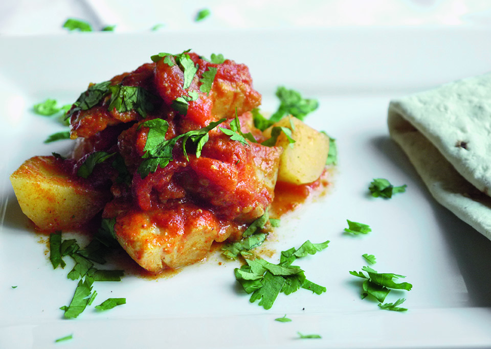 Zainab's No Fuss Tandoori Fish Curry