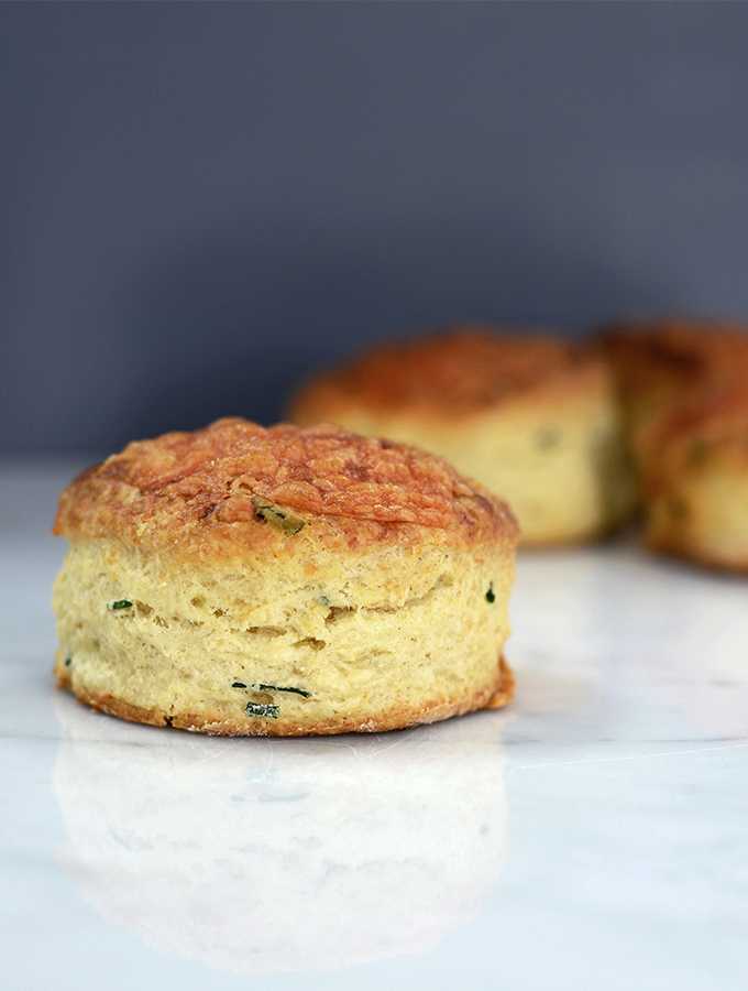 Simple bakes recipe five, Cheese and Chive Scones