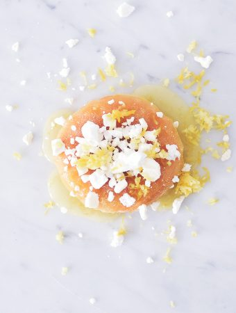 LEMON MERINGUE PIE DOUGHNUT
