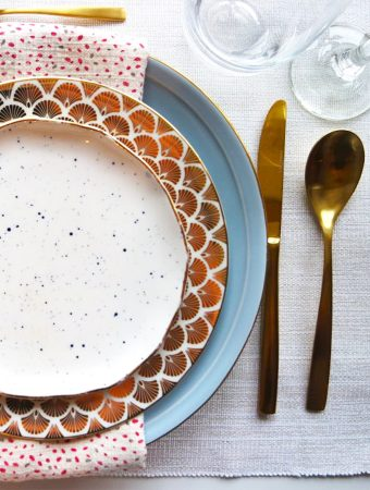 HOW TO STYLE OUR GOLD CUTLERY