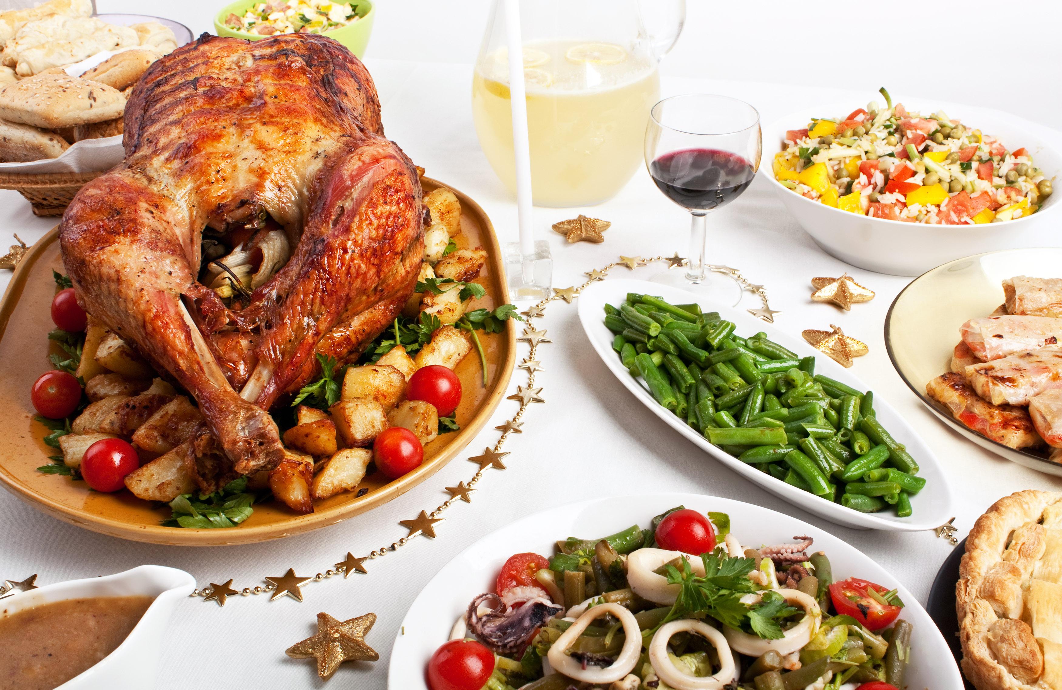 Christmas Dinner for OTT Christmas Dishes