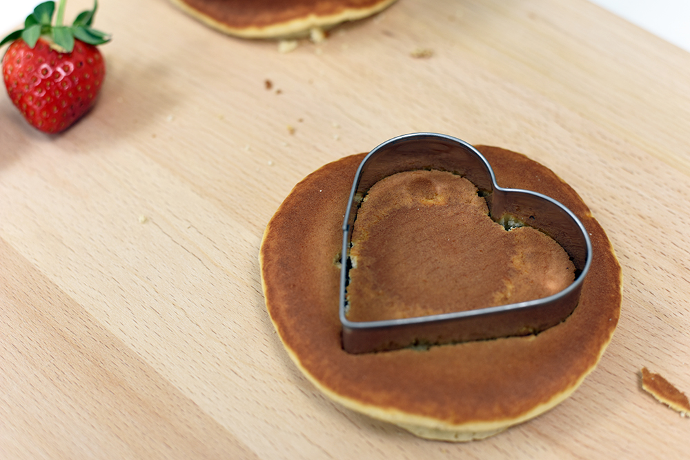 Heart Shaped Pancakes on ProCook
