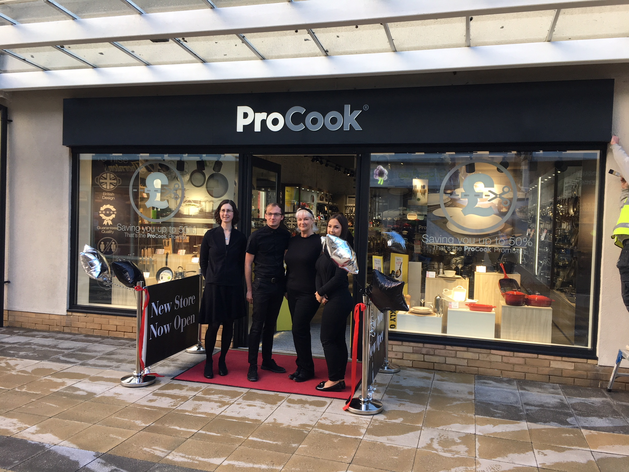 Spalding Springfields Store Launch