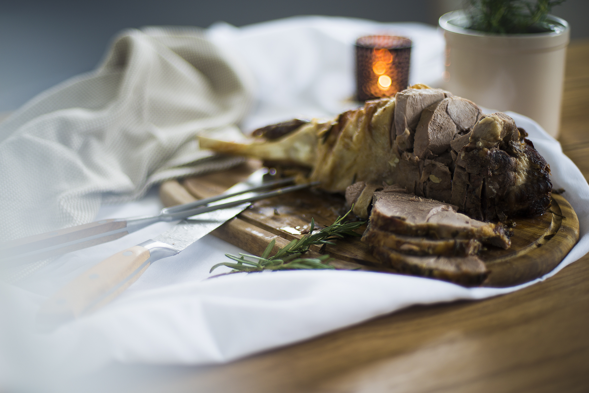 How to Carve an Easter Roast Leg of Lamb | ProCook How To