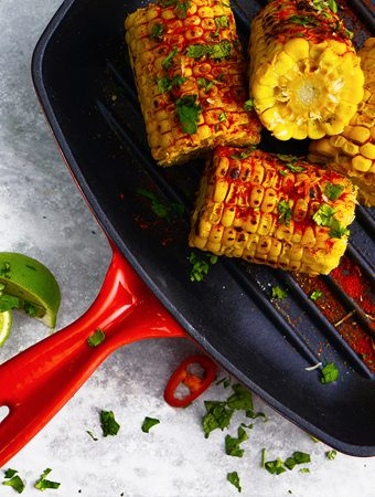 MEXICAN-STYLE GRIDDLED CORN