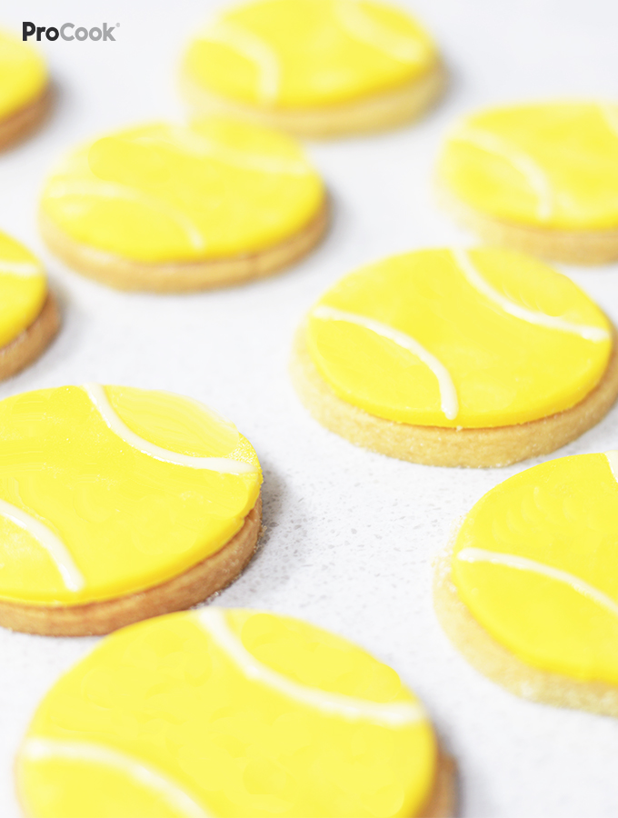 ProCook Wimbledon Tennis Ball Shortbread Recipe Pinterest Image