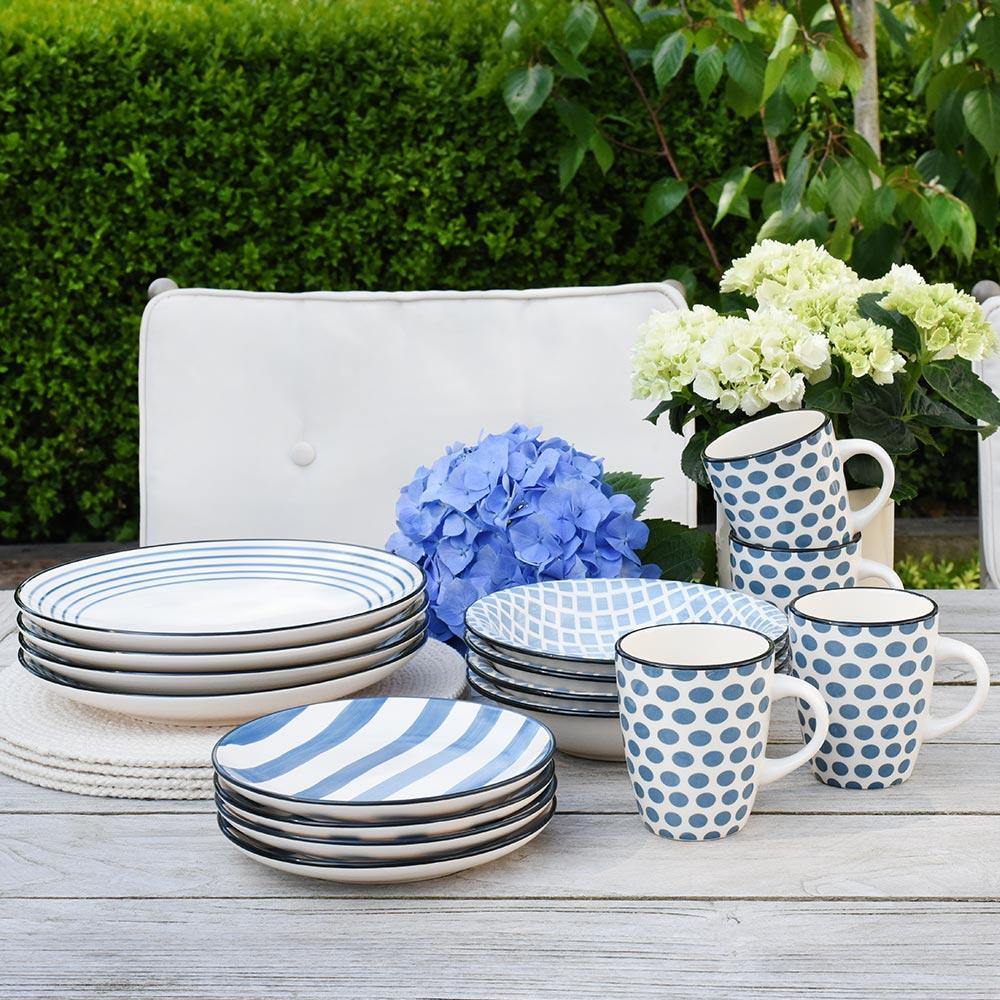 alfresco dining tableware