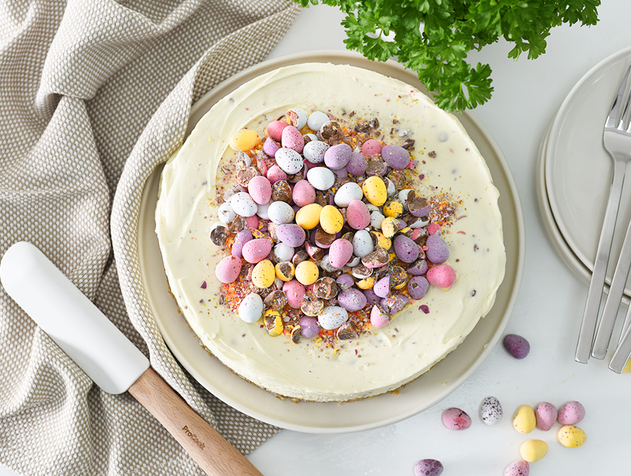 ProCook Mini Egg No Bake Cheesecake Recipe