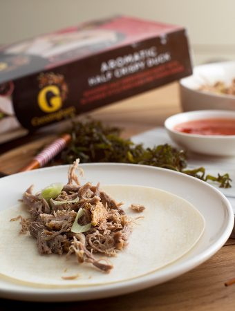 Crispy Duck Pancakes with Gressingham
