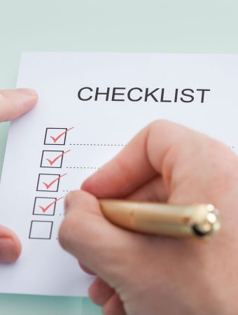 The University Checklist: What You Really Need