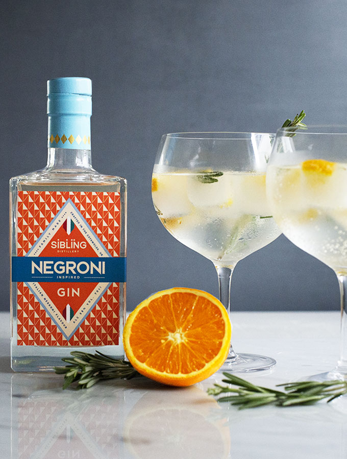 ProCook x Sibling Distillery Negroni Gin Cocktail Recipe
