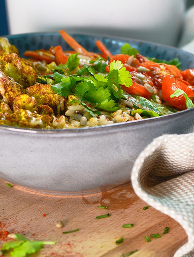 ProCook Spiced Cauliflower Vegan Buddha Bowl Recipe