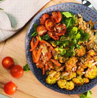 Cauliflower Buddha Bowl recipe with ProCook