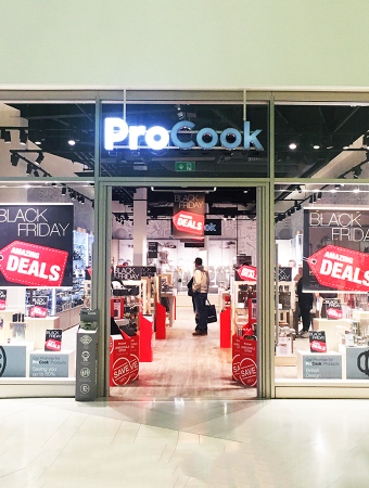 Black Friday success at ProCook
