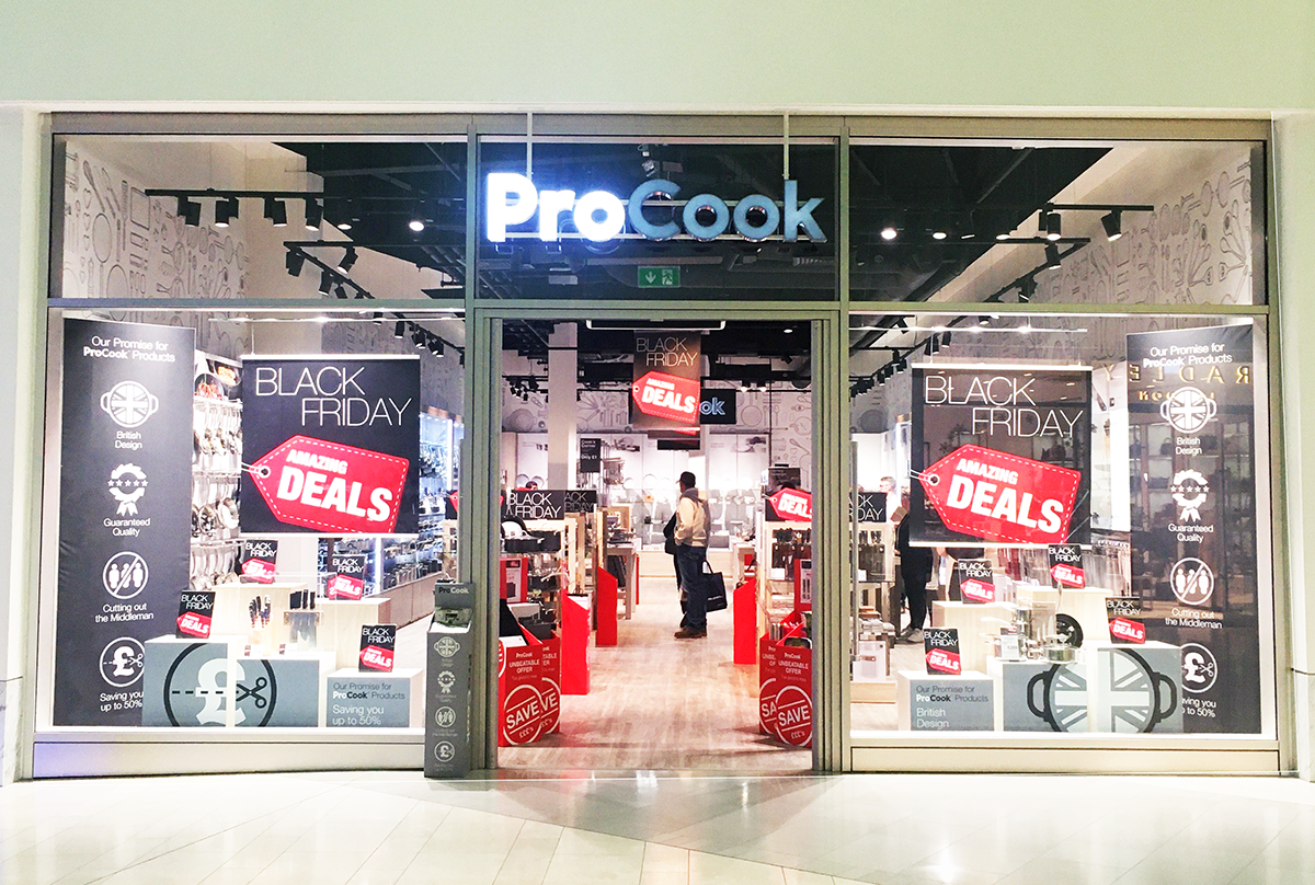 Record-breaking Black Friday results for ProCook