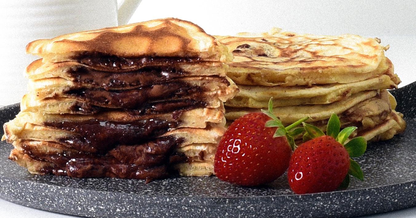 ProCook Nutella Stuffed Pancakes for Pancake Day