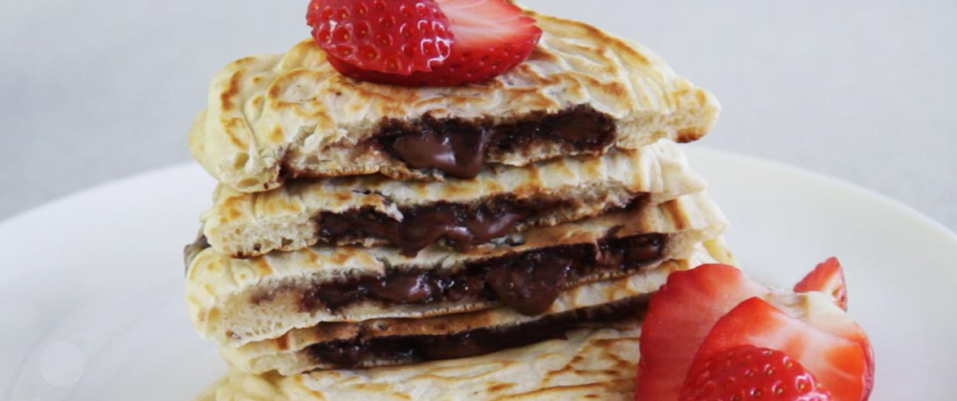 ProCook Nutella Stuffed Pancakes