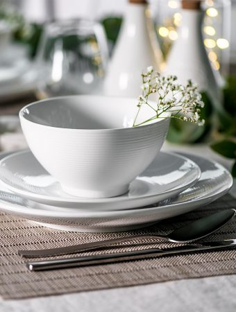 Dine in style with Antibes and Napa tableware by ProCook