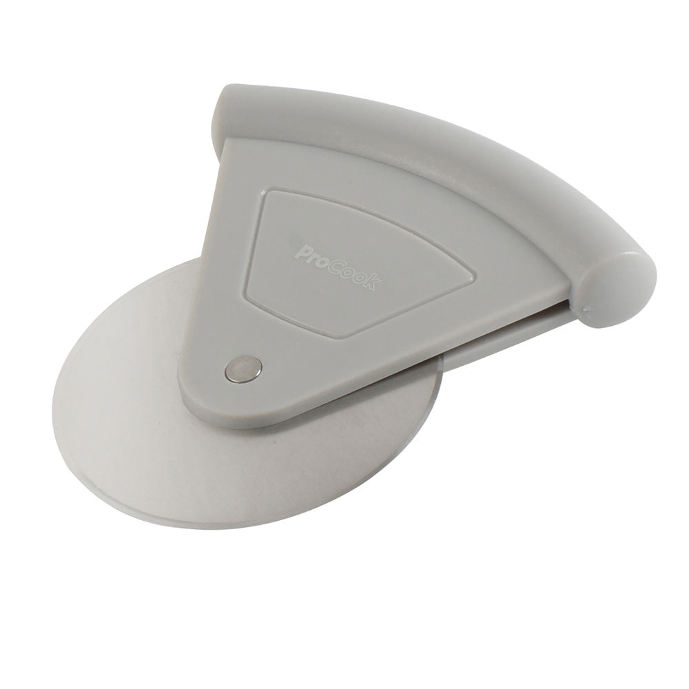 ProCook Pizza Cutter Grey for making homemade pizza