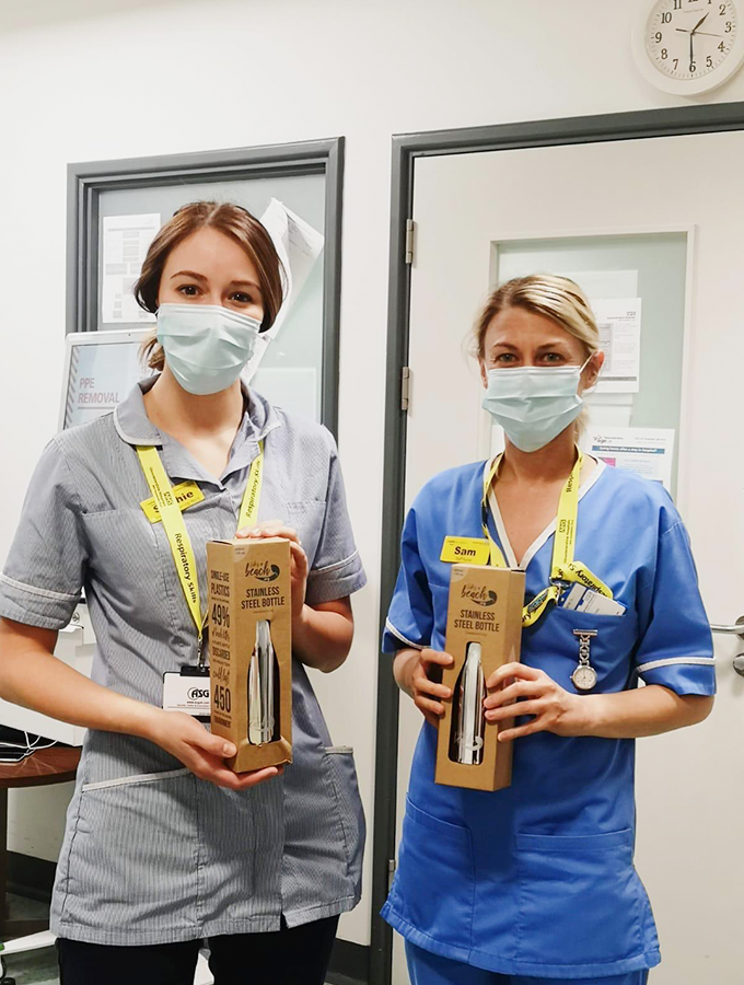 ProCook donates 1,600 water bottles to NHS Gloucestershire staff