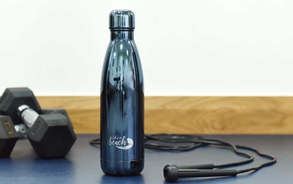 ProCook Life's a Beach plastic free water bottle