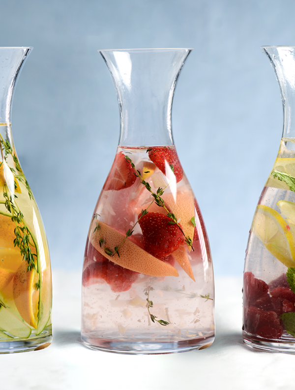 ProCook Fruit Infusions served in a ProCook Carafe