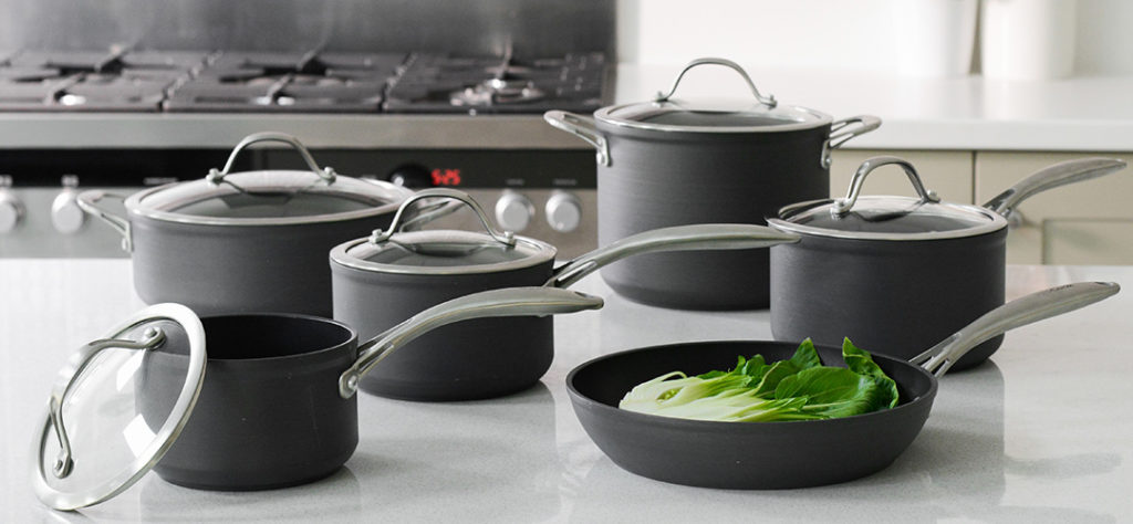 ProCook Professional Anodised 6 Piece Cookware Set for giveaway celebrating Top 100 Most Loved Retail Brand win
